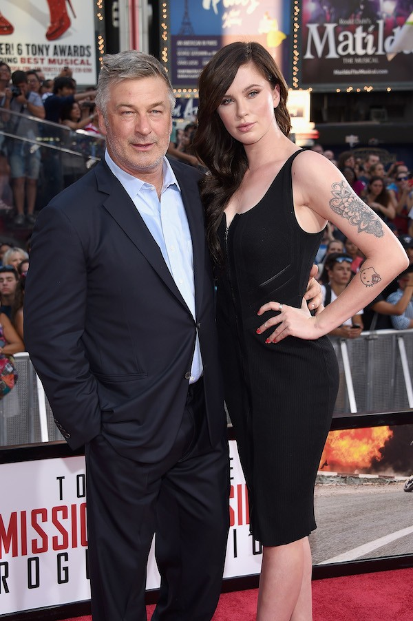 Alec Baldwin e Ireland Baldwin (Foto: Getty Images)