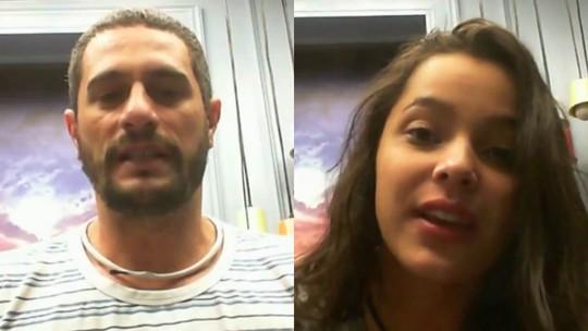 Raio-X BBB: em dia de eliminação, Daniel e Emilly pedem ao público para permanecer na casa
