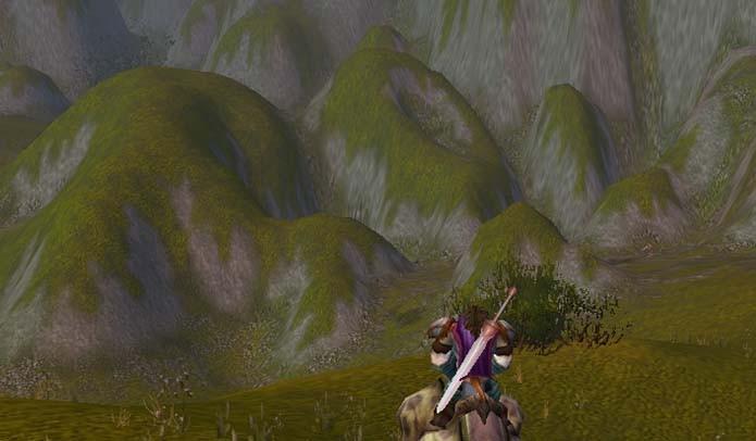 A popular expressão LOL está cravada em uma das montanhas do game (Foto: Reprodução)