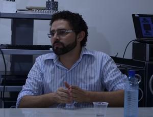 Guto Sousa, presidente do Espectros (Foto: Rammom Monte / GloboEsporte.com/pb)
