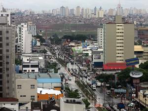 Avenida Goiás, uma das principais de São Caetano do Sul (Foto: Sergio Castro/Estadão Conteúdo/Arquivo)