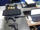 Universitário é detido com 2 armas de airsoft durante ação da PRF em RR