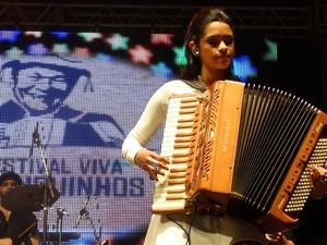 'Quem canta sua tribo é universal', afirma cantora que participou do The Voice Brasil. (Foto: Jael Soares/ G1)