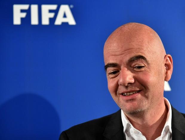 Gianni Infantino presidente da Fifa