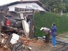 Casal fica ferido após caminhonete invadir centro espírita em Franca, SP