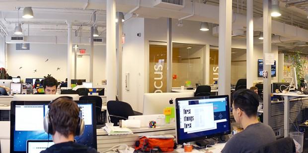 Escritório do eBay em Nova York (Foto: Divulgação)