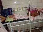Bebês dividem leito em hospital infantil  (Reprodução/TV Globo)