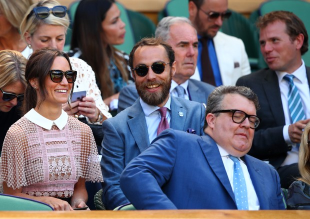Pippa e o irmão, James Middleton (Foto: Getty Images)