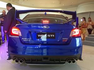 Subaru WRX STI (Foto: André Paixão/G1)