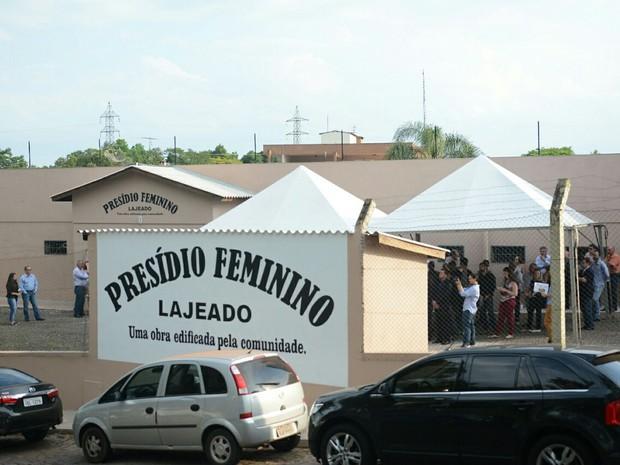 Inauguração de Presídio Feminino ocorreu nesta sexta-feira (Foto: Rodrigo Ziebel, divulgação/SSP)