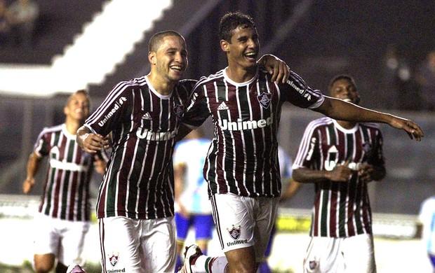 Bruno e Michel jogo Fluminense x Macaé (Foto: Nelson Perez / Fluminense. F.C.)