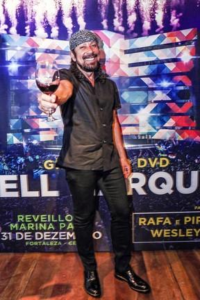 Bell Marques em entrevista coletiva em Salvador, na Bahia (Foto: Fábio Cunha/ Divulgação)