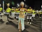 Musas do carnaval vão aos ensaios de suas escolas no Rio e em São Paulo
