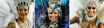 Portela, Beija-Flor e Tijuca se destacam na 2ª noite no Rio (Alexandre Durão e Rodrigo Gorosito/G1)