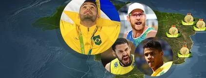 Paraíba e mais três estados do país conquistam no Rio o primeiro ouro (GloboEsporte.com)