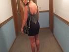 Andressa Suita usa vestido sensual e ganha chuva de elogios na web