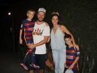 Fernanda Lima e Rodrigo Hilbert celebram aniversário dos gêmeos