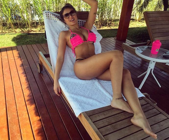 Natacha Horana: curvas perfeitas (Foto: Arquivo Pessoal)