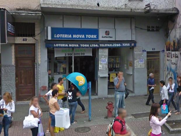 Loteria que pagou prêmio milionário da Mega-Sena no Rio fica em Bonsucesso, na Zona Norte (Foto: Divulgação/Google Street View)