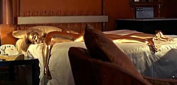 Jill Masterson, de 007 Contra Goldfinger (Foto: Reprodução)