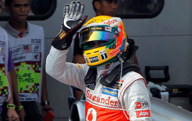 lewis hamilton mclaren gp da malsia (Foto: Agncia Reuters)