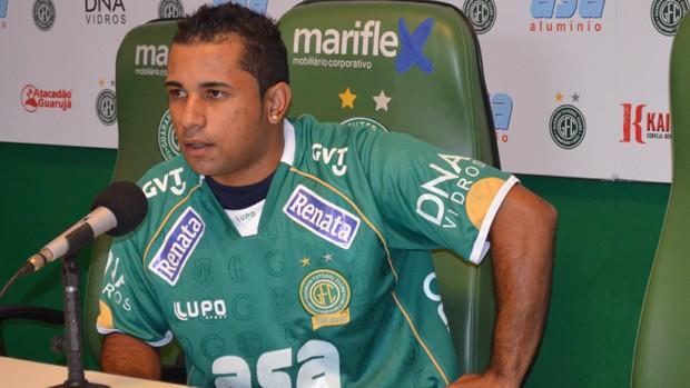Alex, reforço do Guarani para o Brasileiro da Série B (Foto: Bernardo Medeiros / Globoesporte.com)