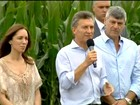 Presidente da Argentina zera imposto para exportação de industrializados