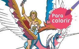 Para colorir: She-Ra poderosa