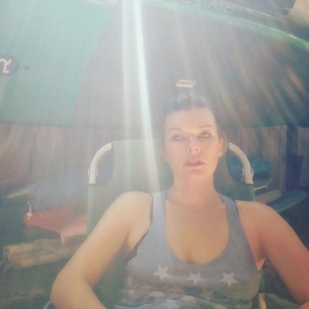 Milla Jovovich (Foto: Reprodução/ Instagram)
