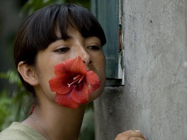 A atriz Magaly Solier, em La teta asustada, atração desta terça (16) do Cinefórum, do Instituto Cervantes de Brasília (Foto: Instituto Cervantes/Divulgação)