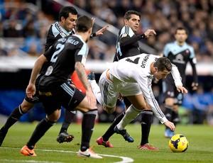 Cristiano Ronaldo jogo Real Madrid e Celta (Foto: AFP)