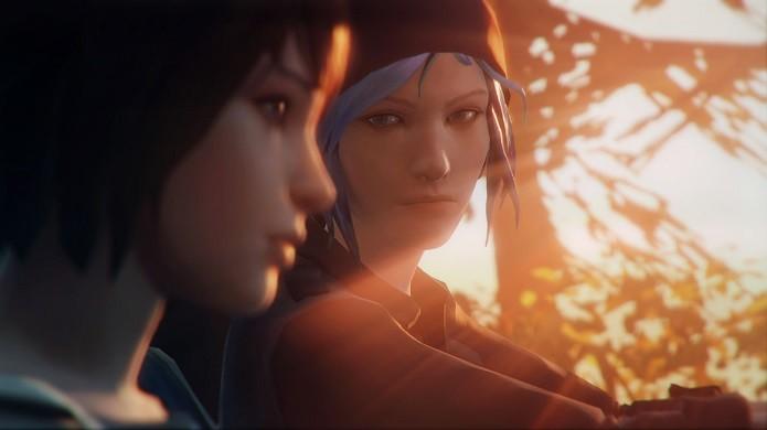 Life is Strange: Max e sua melhor amiga, Chloe (de cabelo azul) (Foto: Divulgação)