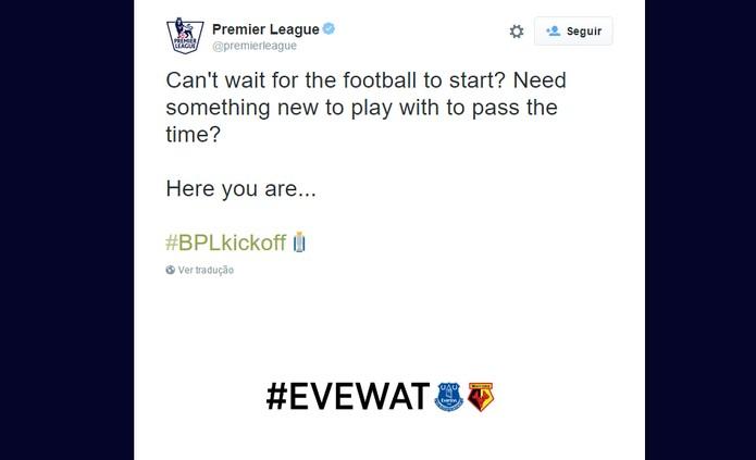 Times do Premier League ganham emojis no Twitter (Foto: Reprodução/Barbara Mannara)