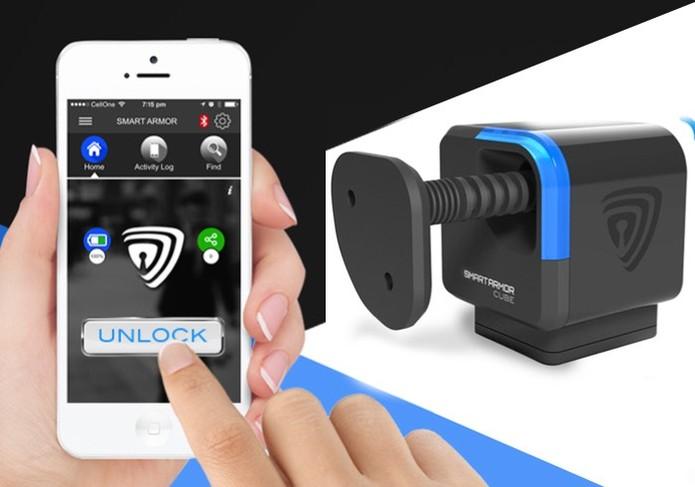 O aplicativo funciona como uma chave para destravar (Foto: Divulgação/Smart Cube)