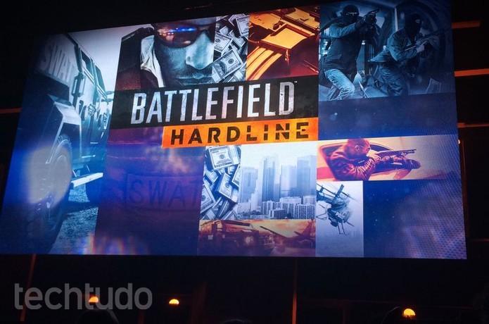Battlefield Hardline traz uma proposta (Foto: Monique Mansur/TechTudo)