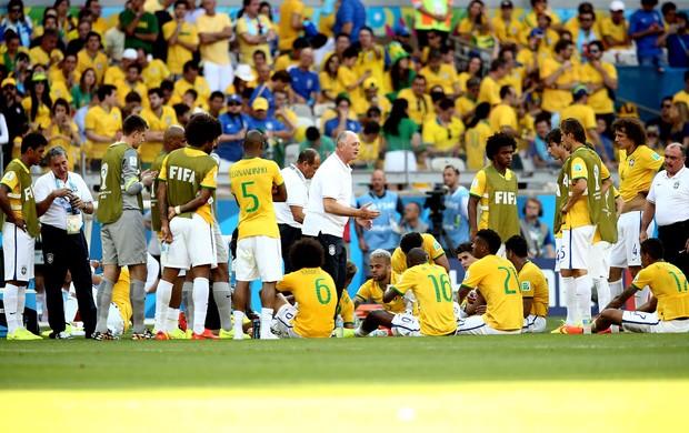 Felipão scolari brasil e Chile Mineirão (Foto: Marcos Ribolli / Globoesporte.com)
