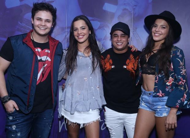 Matheus, Mayla, Kauan e Emilly (Foto: AgNews)