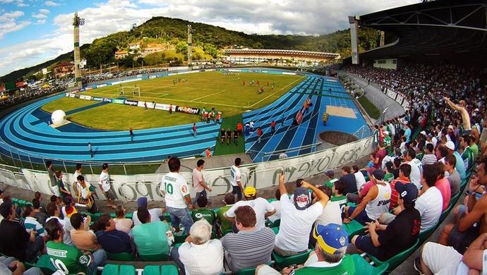 Estádio Sesi  Blumenau (Foto: Giovanni Silva/CA Metropolitano)