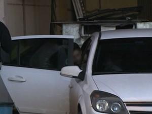 Menino que foi atacado por tigre deixou o hospital em Cascavel (Foto: Reprodução/RPC TV)