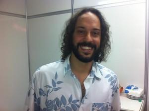 Gabriel O Pensador no Planeta Atlântida (Foto: Caetanno Freitas/G1)