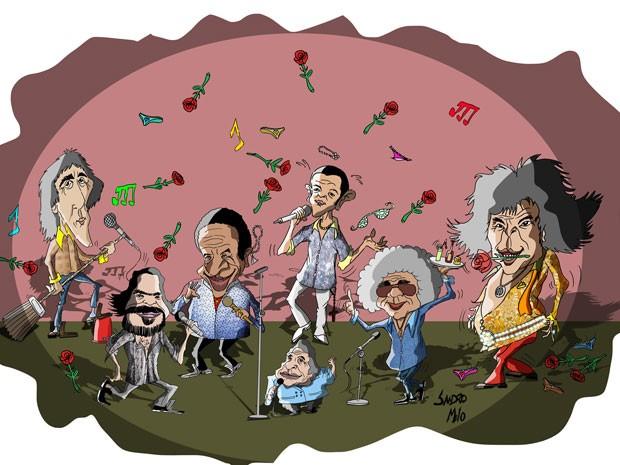 Especial do G1 relata a trajetória dos reis da música brega e mostra como esses ícones vivem hoje (Foto: Sandro Melo)