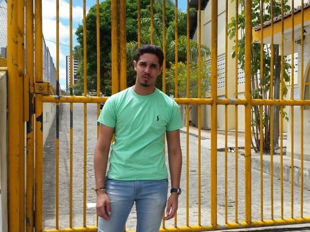 ENEM 2016 - DOMINGO (6) - Campina Grande (PB) - atrasado Carlos Keven (Foto: Artur Lira/G1)