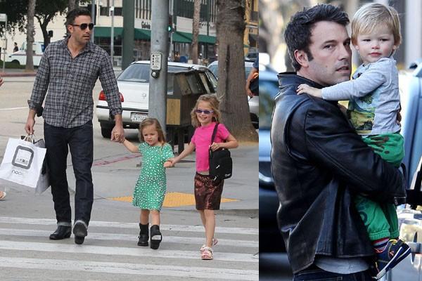 O novo Batman, Ben Affleck, tem três filhos. (Foto: Divulgação)