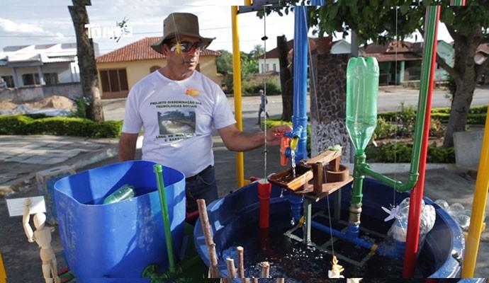 Ildeano Sebastião é um exemplo para os moradores de Morro do Ferro (Foto: Divulgação   Tô Indo)