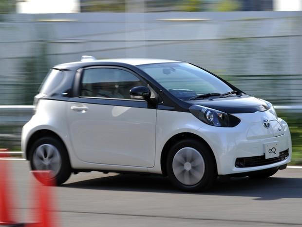 eQ chega a 125 km/h, diz a Toyota (Foto: YOSHIKAZU TSUNO / AFP)