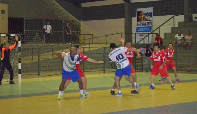 Campeonato de Handebol Master (Foto: Nailson Wapichana)