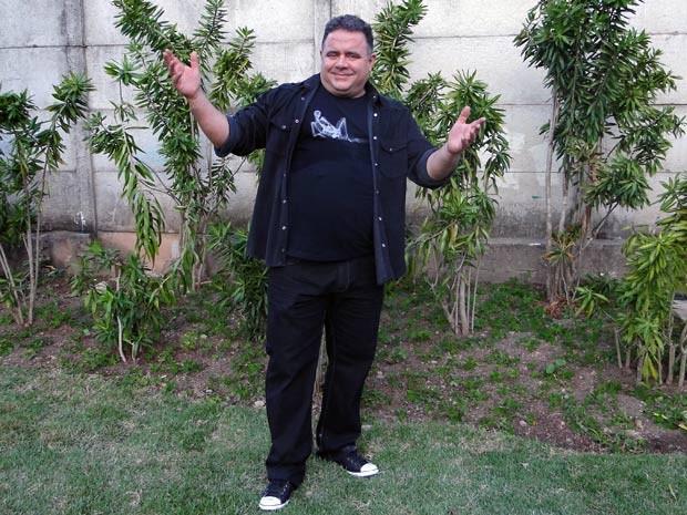 Leo Jaime é Nando: roqueiro na ficção e vida real (Foto: Malhação / TV Globo)