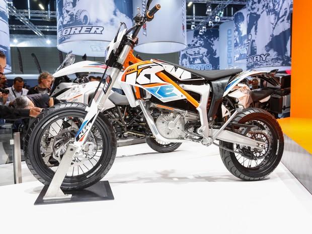 KTM exibe a moto elétrica Freeride E-SM (Foto: Divulgação)