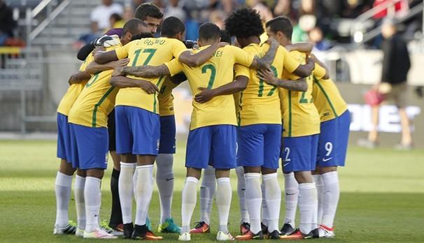 Brasil e Equador se enfrentam pela Copa América (Foto: CBF)