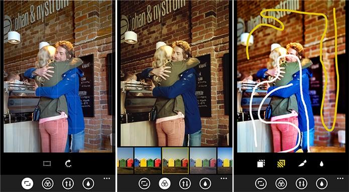 Creative Studio passou por grande reformulação e ganhou funcionalidades novas (Foto: Divulgação/Windows Phone Store)
